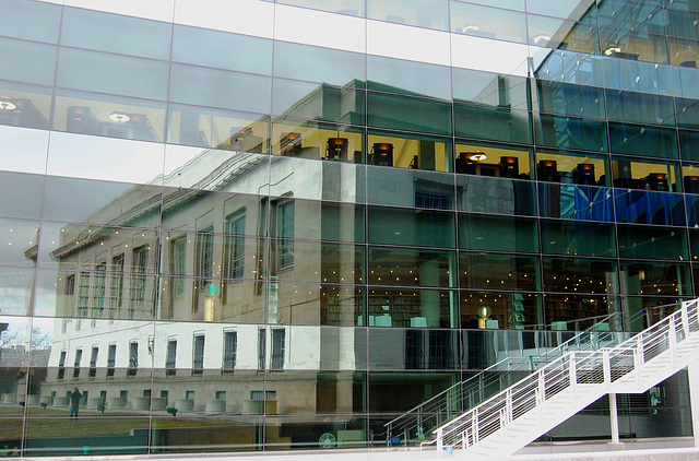 New Library Meets Old