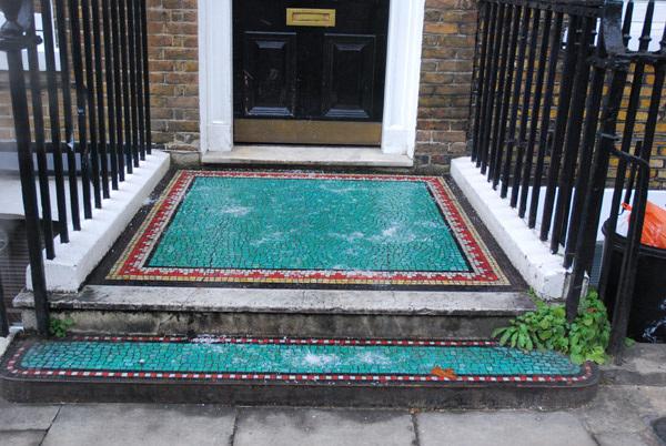 Doorstep mosaic