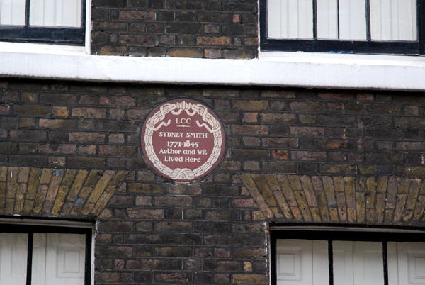 Sydney Smith lived here
