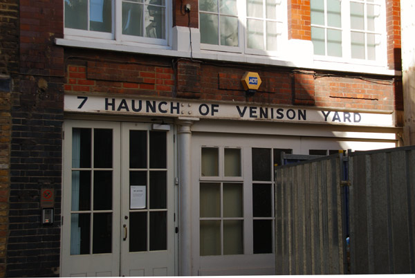 7 Hanunch of Venison Yard