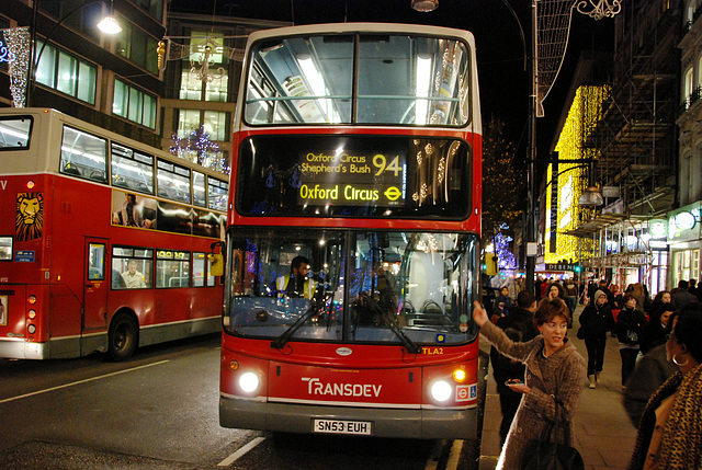 Nr. 94 Bus to Oxford Circus