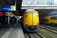 EMU 4444 of the Dutch National Railways at Utrecht Central Station