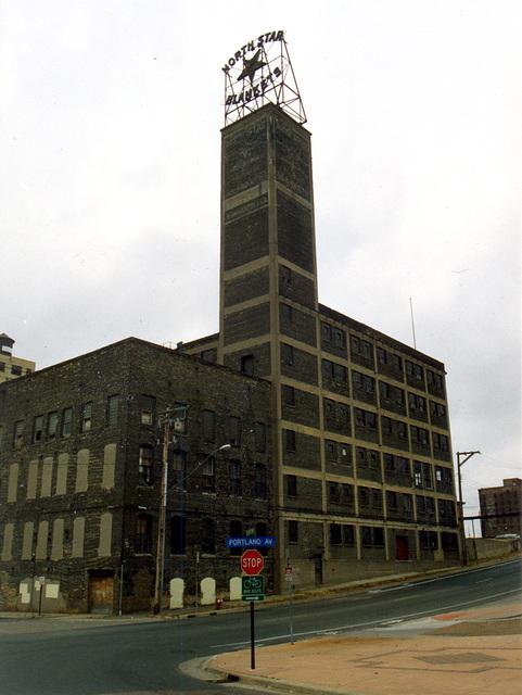 North Star Blanket factory in Minneapolis, Minnesota, USA