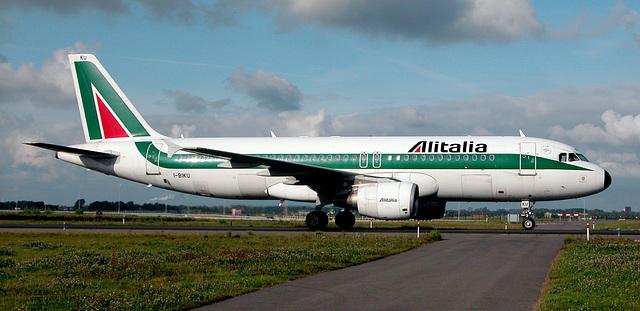 Alitalia Plane at Schiphol