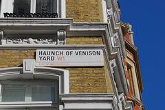 Haunch of Venison Yard W1