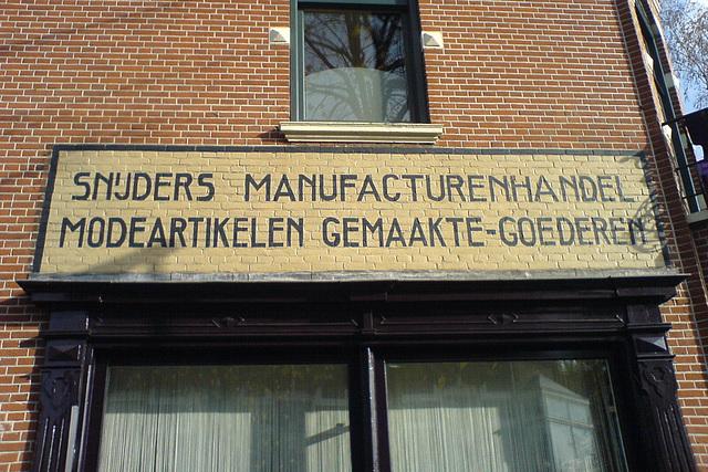 Snijders manufacturenhandel