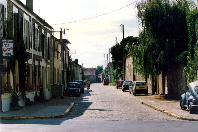 View of Barbizon (France)