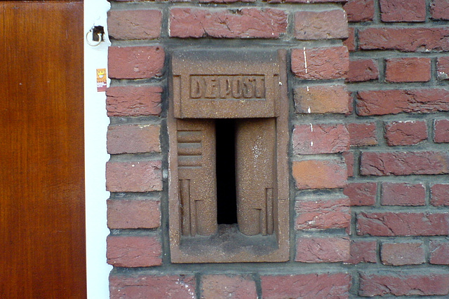 Details of a house in Utrecht – Letterbox