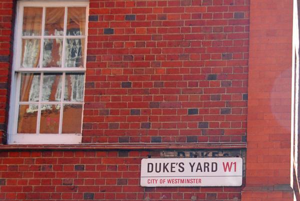 Duke's Yard W1