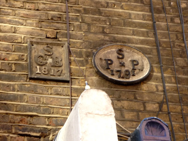 Parish boundary markers