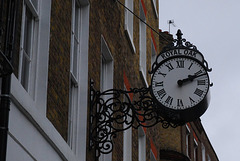 Royal Oak clock