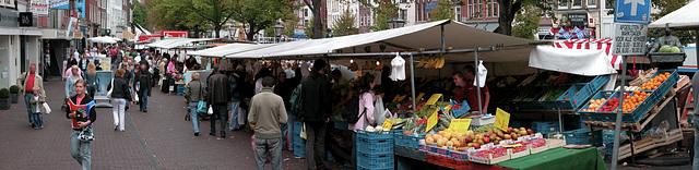 Leiden weekly market