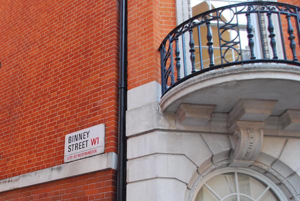 Binney St W1