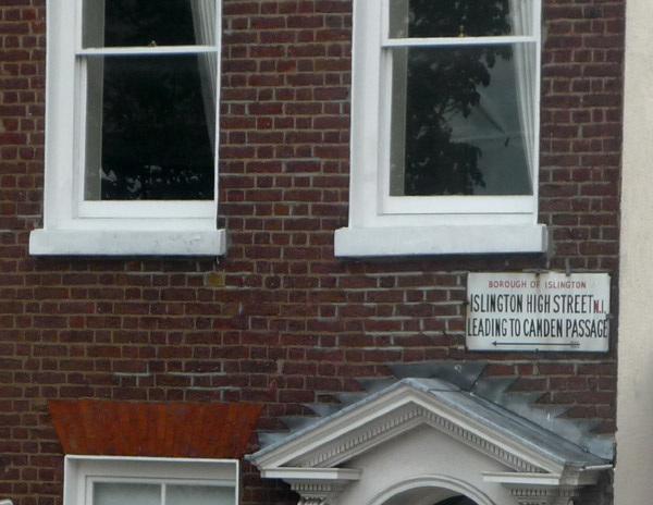Islington High Street N1 leading to Camden Passage