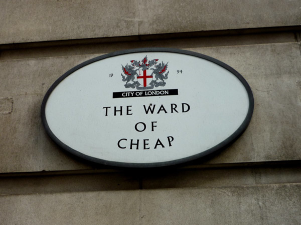 The Ward of Cheap