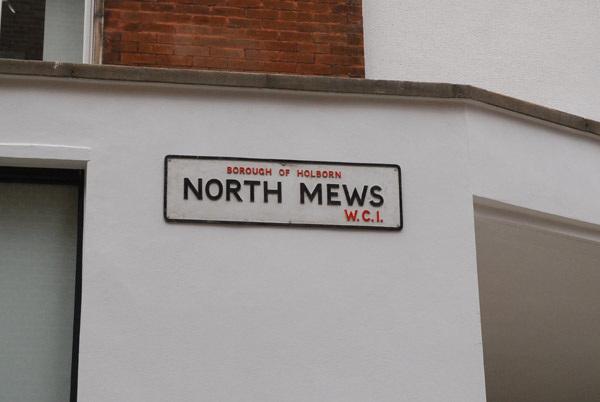 North Mews WC1