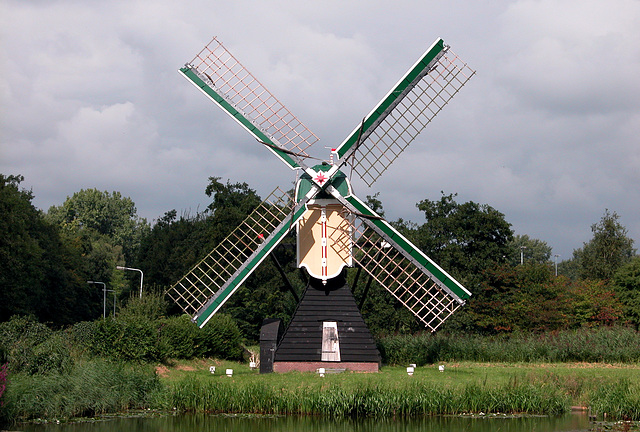 The Mare Dyke Mill: the oldest mill in Leiden