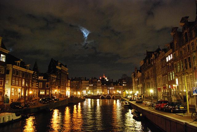 A night in Amsterdam: Herengracht (Gentlemen's Canal)