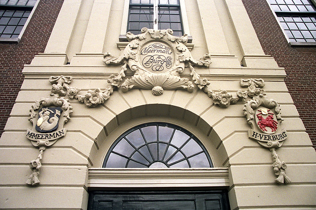 Entrance to the Merman's Almshouse