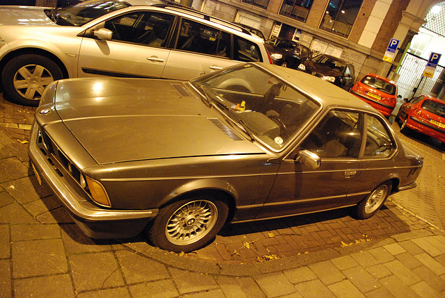 A night in Amsterdam: 1986 BMW 635 CSI