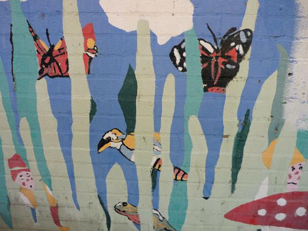 Mural, Rainham Station