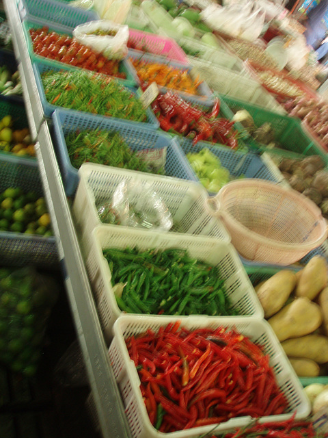 market - chillies