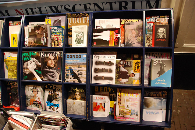 A night in Amsterdam: Magazines at Athenæum Newscentre