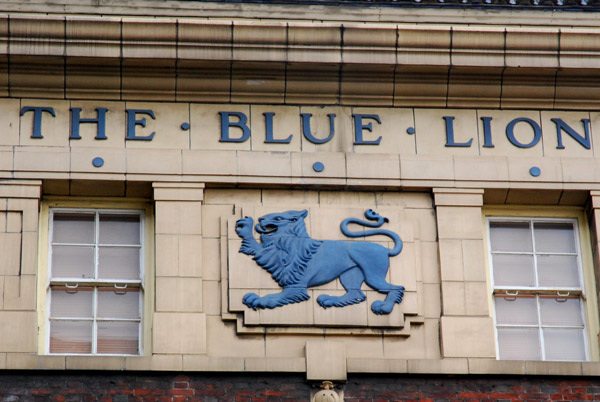The Blue Lion