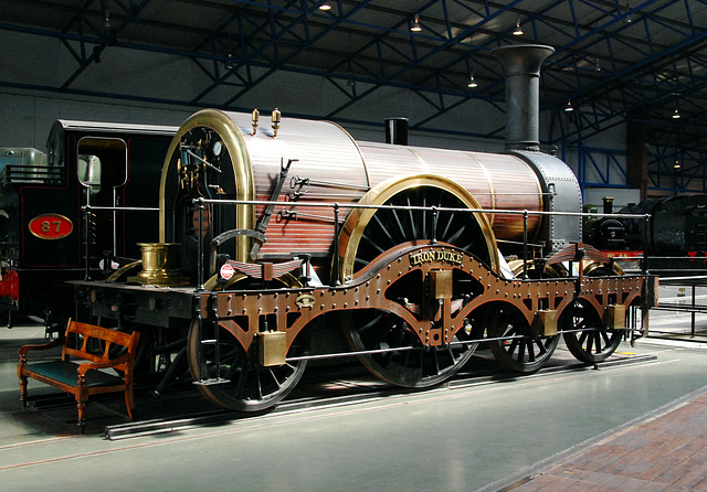 A visit to the National Railway Museum in York: The Iron Duke