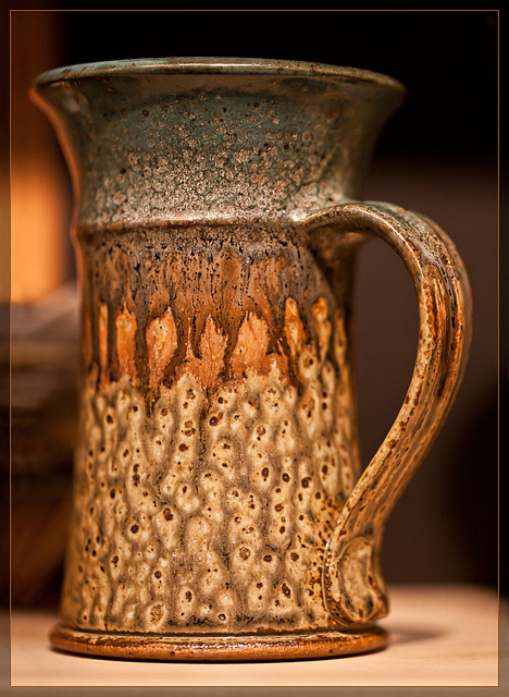 Clayfolk Art Show!! This is Bruce Finch: Rusty-Colored Mug