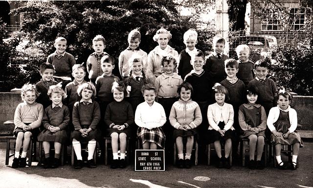 1966 Sandy's grade prep class photo
