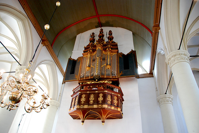 Opening of the academic year of Leiden University: The organ of the Highland Church