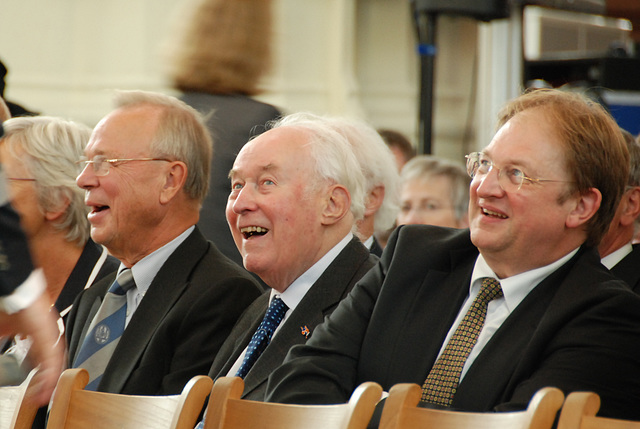 Opening of the academic year of Leiden University: Former members of the board of governors