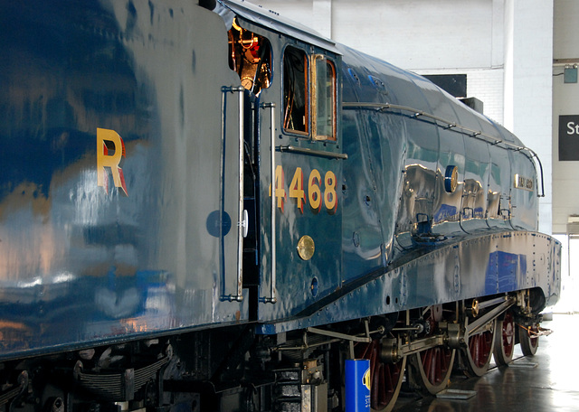 A visit to the National Railway Museum in York: The Mallard