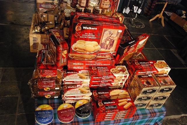 The whisky festival: shortbread
