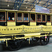 A visit to the National Railway Museum in York: one of the first railway carriages