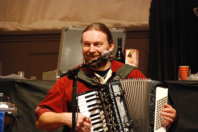 The whisky festival: folk music