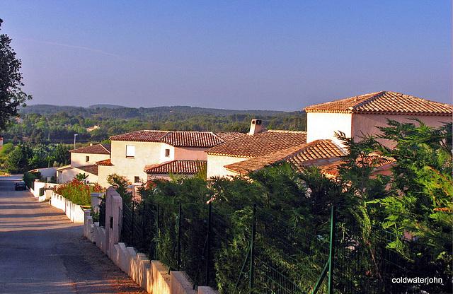 Early morning in Provence, near Draguignan