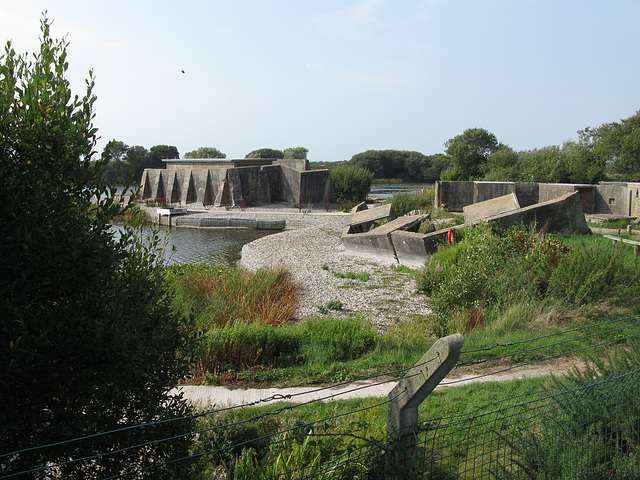Remains of WW2 defences, Sinah Common, Hayling Island