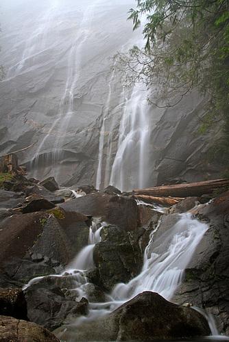 Bridal Veil Falls in the Mist