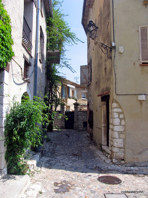 An Old home in St Paul de Vence, Provence