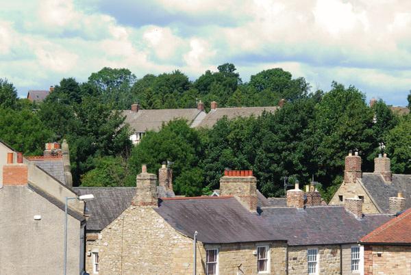 Hexham rooftops