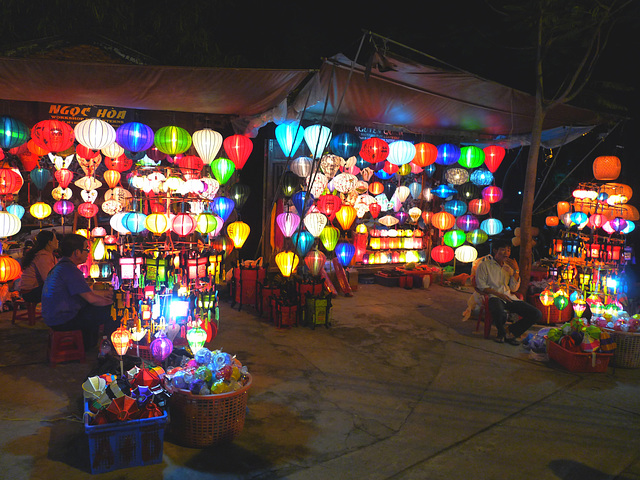 Chinese Lanterns in the Night Market at Hoi An