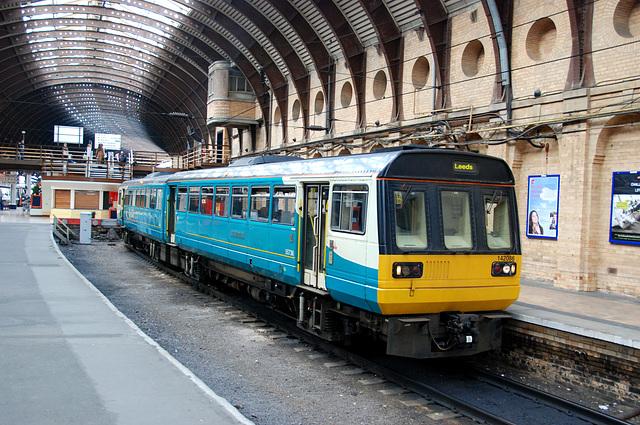 Local train at York