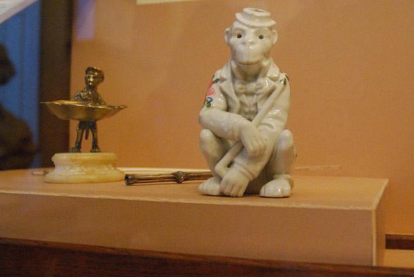 Ceramic monkey