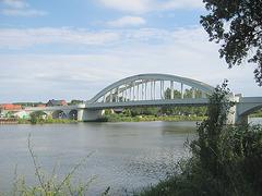 Alsleben, Saale-Brücke