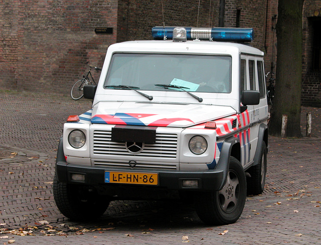 Official cars in the Hague: 1995 Mercedes-Benz G 350 Turbodiesel