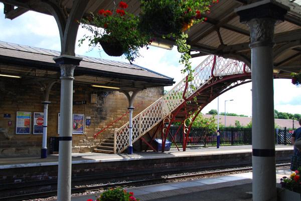 Hexham Station footbridge