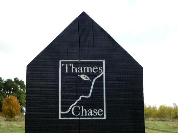 Thames Chase sign