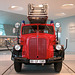 In the Mercedes Museum: Fire Engine